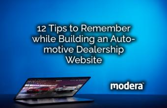 12 Tips to build an Automotive Dealership Website