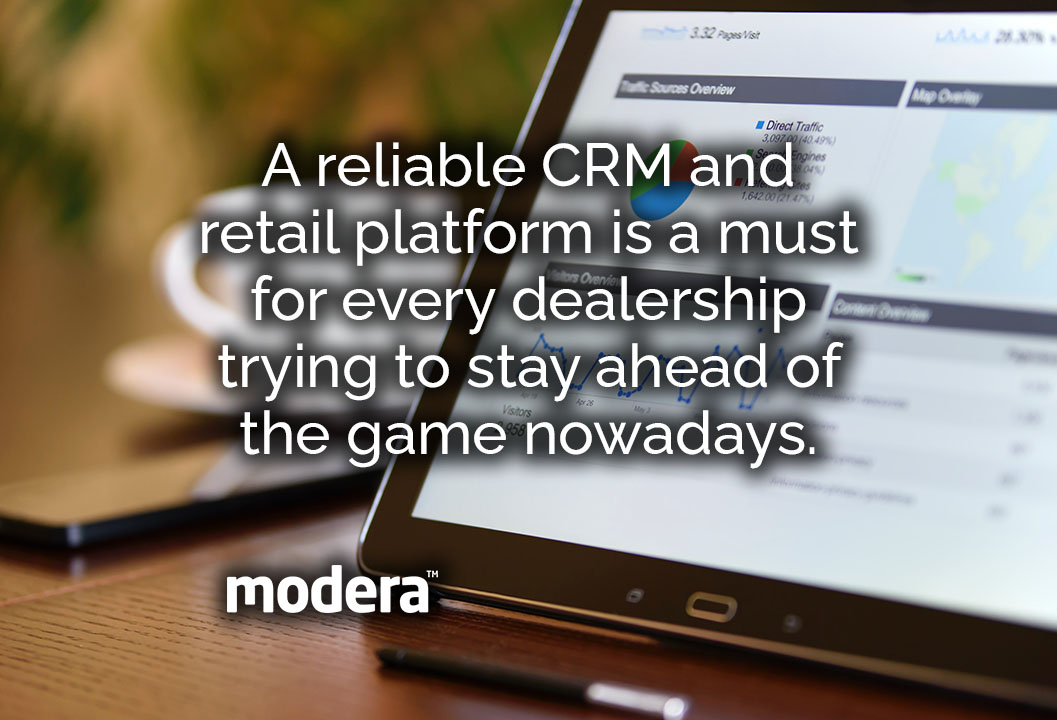 dealerships and showrooms need reliable CRM