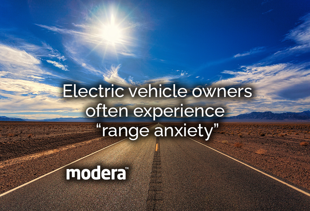 """Electric vehicle owners often experience """"range anxiety"""""""
