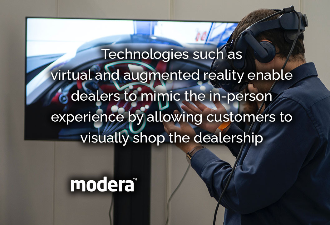 VR in automotive sector