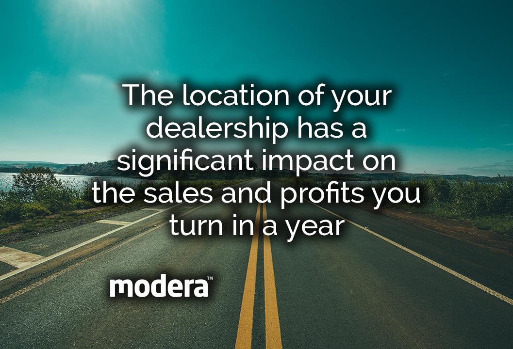 best location for car dealership