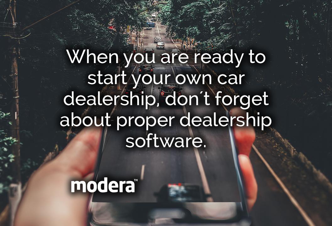 proper car dealership software